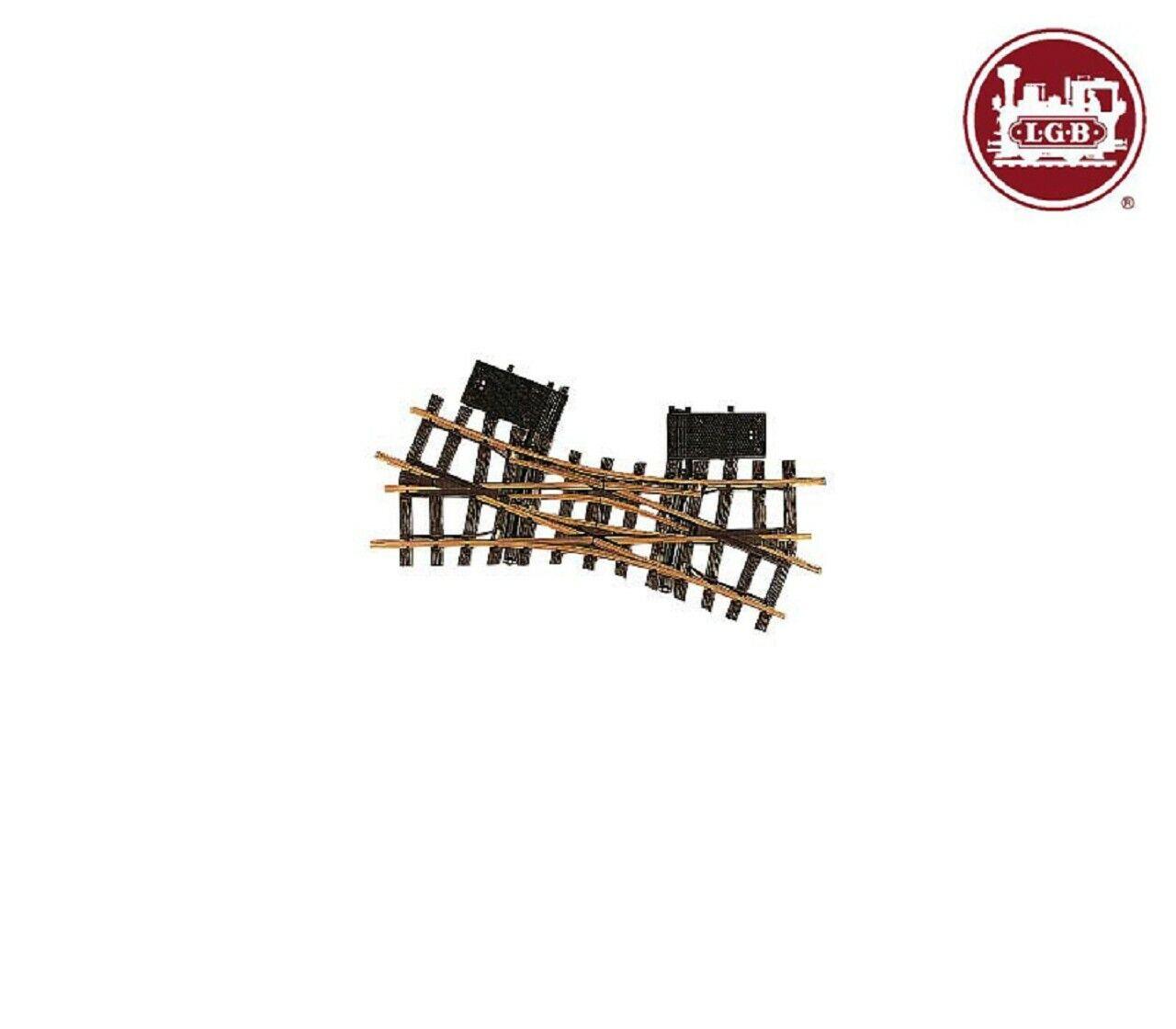 LGB 12260 Electrical Double Cross Soft R1  22.5 ° +++ nouveau  magasin fait l'achat et la vente