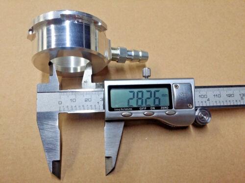 WELD ON 42 MM RADIATOR FILLER FILL NECK CNC BILLET ALUMINUM CAP