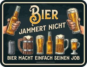 Kleiner Kühlschrank Bier : Lustiger kühlschrankmagnet bier jammert nicht kühlschrank
