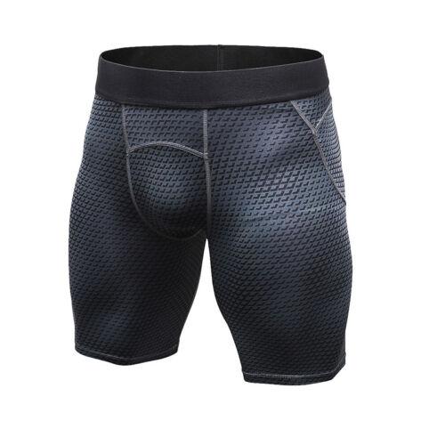 Men/'s Compression Shorts Athletic Training Soccer Boxer Spandex Dri fit Tights