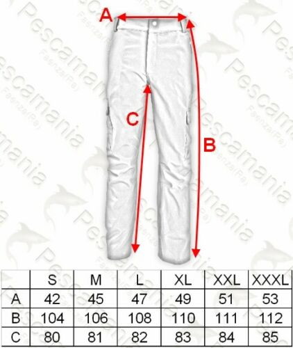 Trousers Colmic Softshell /'Official Team/' Transpiring Waterproof
