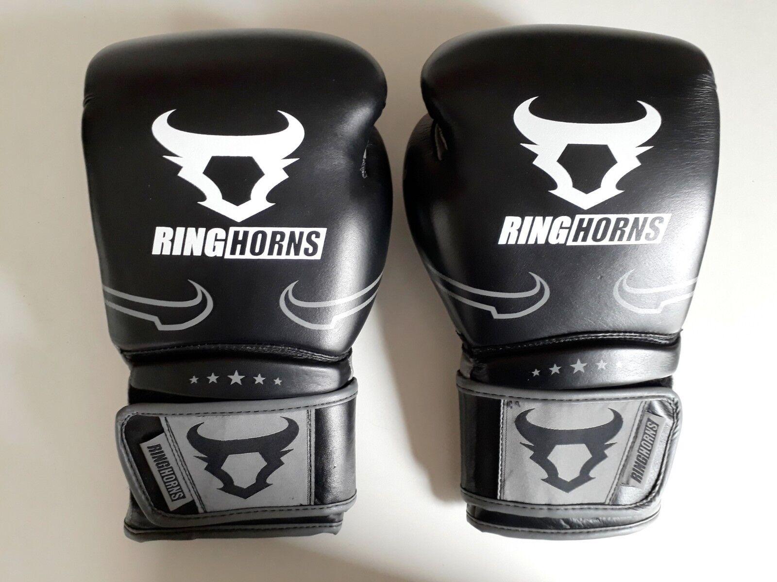 Muay Thai-Set: OZ, Boxhandschuhe Venum/Ringhorns, 12 OZ, Thai-Set: Leder, Bandage, Springseil 90fbaf