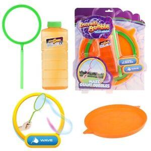 MACCHINA per bolle di grandi dimensioni impostato per bambini da giardino giochi estate Divertente
