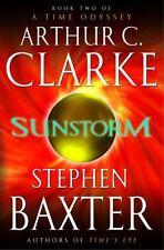 Time Odyssey: Sunstorm Bk. 2 by Arthur C. Clarke and Stephen Baxter (2005, Hardcover)