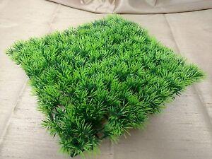 GREEN-GRASS-AQUARIUM-FISH-TANK-BOWL-DECORATION-ORNAMENT-ARTIFICIAL-PLANT-9-034-X-9-034