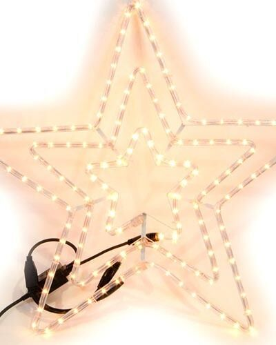 Pre-Illuminato Pre-Illuminato Pre-Illuminato All'aperto Luce Lampeggiante Corda Star d9d456