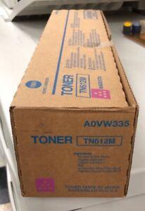 Genuine-Konica-Minolta-BIZHUB-C6501-Magenta-Toner-Cartridge-TN612M