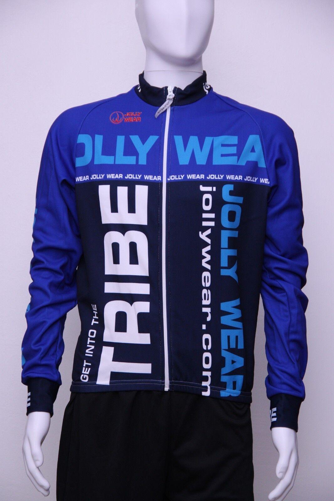 Jolly Wear Größe Herren Fahrrad Langarm Trikot Marc, Blau, Größe Wear XXL, MARC_mml NEU bbdb9b