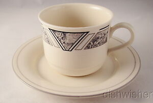 Lenox-NATURAL-ACCENTS-GRANITE-Cup-and-Saucer-Set-s