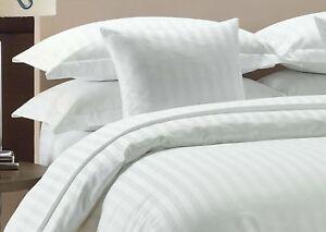 Dark Gray Stripe Duvet Cover Set Emperor Size 1000 Thread Count Egyptian Cotton