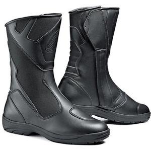 Sidi-Mega-Rain-Black-Waterproof-Motorcycle-Touring-Boots-EUR-42-UK-8-F16