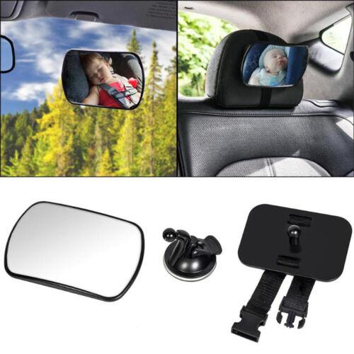 Baby Car Mirror Sucker Rear View With Straps Seat Mirrors Vintage