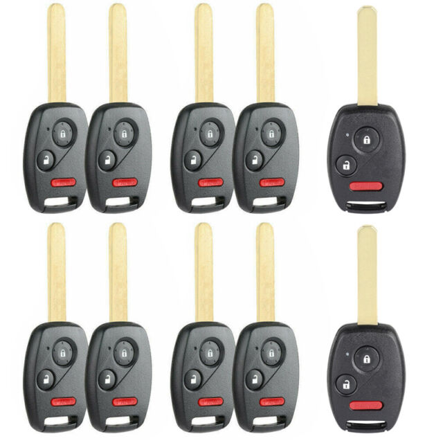 10X Replacement Remote Key Fob For 2007 2008 2009 2010