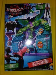 Marvel Spider-Man en Spider-verse Super Collider Play Set Miles Morales Figure