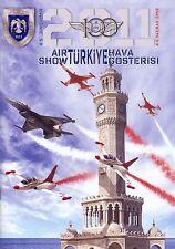 BROSCHÜRE AIRSHOW IZMIR 2011-100th ANNIVERSARY OF TURKISH AIRFORCE,TURKISH STARS