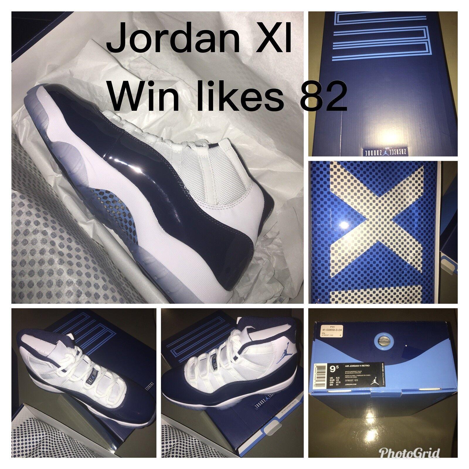 Nike air jordan 11 retro - xi gewinnen wie mitternacht 82 unc aj11 mitternacht wie marine  378037-123 345cce