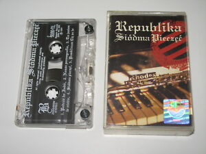 REPUBLIKA-Siodma-Piecz-MC-cassette-tape-1993-2731siodma-pieczec