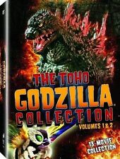 The ToHo Godzilla Collection DVD Set First Second Volume 1 & 2 One Two Series TV