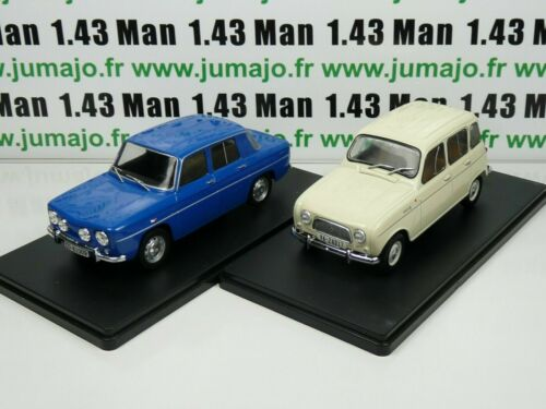 1968 1964 y Renault 8 Ts Lote 2 Coches 1//24 Salvat: Renault 4L