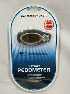 Sportline 342 Electronic Étape Distance Podomètre Avec Advanced Pendule Design Nouveau-afficher Le Titre D'origine