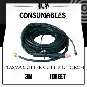 AG60//SG55 Pilot Arc Plasma Cutting Torch Gun Complete Set Cable 16 Feet