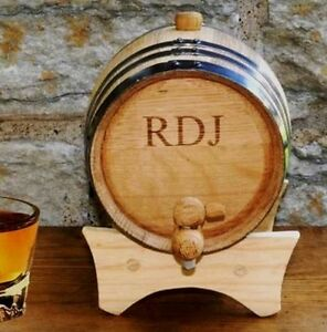 MINI-WHISKEY-BARREL-WINE-CASK-2-LITER-PERSONALIZED-GIFT-FREE-SHIPPING