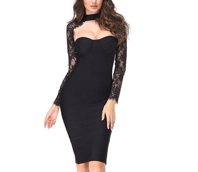 Lucy  Lace Body-con Dress