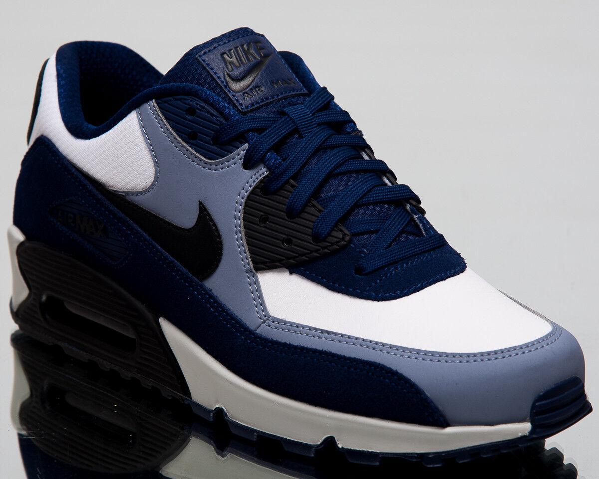 Nike Air Max 90 Sneakers Blue Void Schwarz Ashen Slate Lifestyle Schuhe 302519-400