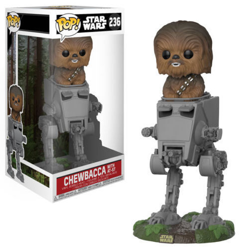 Star - wars - chewbacca mit at-st walker 9.5cm pop - funko 236 uk verk ä 2