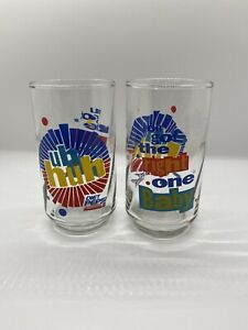 Diet Pepsi 'You Got The Right One Baby Uh Huh' Ray Charles - Vintage Glass