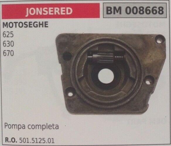 501512501 KIT POMPA OLIO COMPLETA MOTOSEGA JONSErot 625 630 670