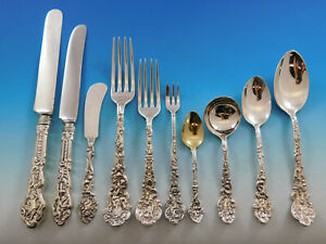 Versailles-by-Gorham-Sterling-Silver-Flatware-Service-Set-374-pcs-Dinner-Kirby