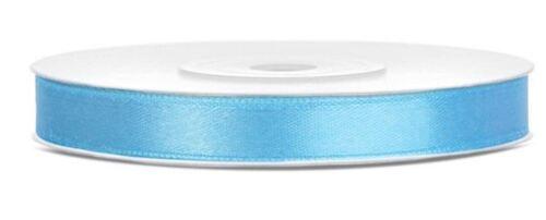 Double face ruban satin 6 mm Artisanat Décoration Fleuriste Cadeau Emballage