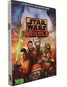 Star-Wars-Rebels-Season-4-DVD-3-discs-New-Sealed-box-US-SELLER
