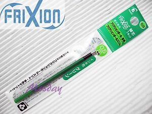 9-x-refills-Pilot-Frixion-LFBTRF30EF-0-5mm-Erasable-Roller-Ball-Pen-GREEN