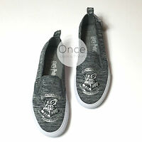 Primark Ladies Harry Potter Hogwarts Slip On Sneakers Trainers Casual Shoes