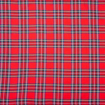 Tartan Print Bandana Scottish Clan Scot Plaid Check Biker Chemo feeanddave