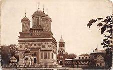 B72061 Curtea de Arges si palatul regal  real photo  romania