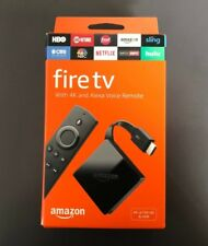 Amazon Fire TV (3rd Gen) 4K Ultra HD and 2 Alexa Voice Remote  - Black