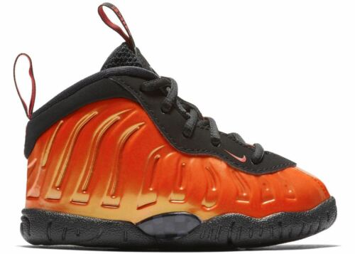 "Toddlers Nike Little Posite One /""Habanero Red Athletic Fashion Casual 723947 603"