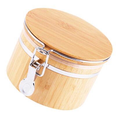 Holz Vorratsdose Teebox Teedose Teekiste Kaffeedose mit Deckel