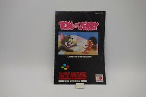 TOM-and-JERRY-manuale-di-istruzioni-per-SNES-SUPER-NINTENDO