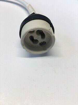 2019 Mode Gu10 Bulb Lamp Holder Connector Downlighter Fitting --- Uk New Regulation Verkwikkende Bloedcirculatie En Stoppen Van Pijn
