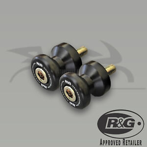 CR0001BK-R-amp-G-Racing-Paddock-Stand-Bobbins-for-Most-Hondas-amp-Suzukis-M8x1-25