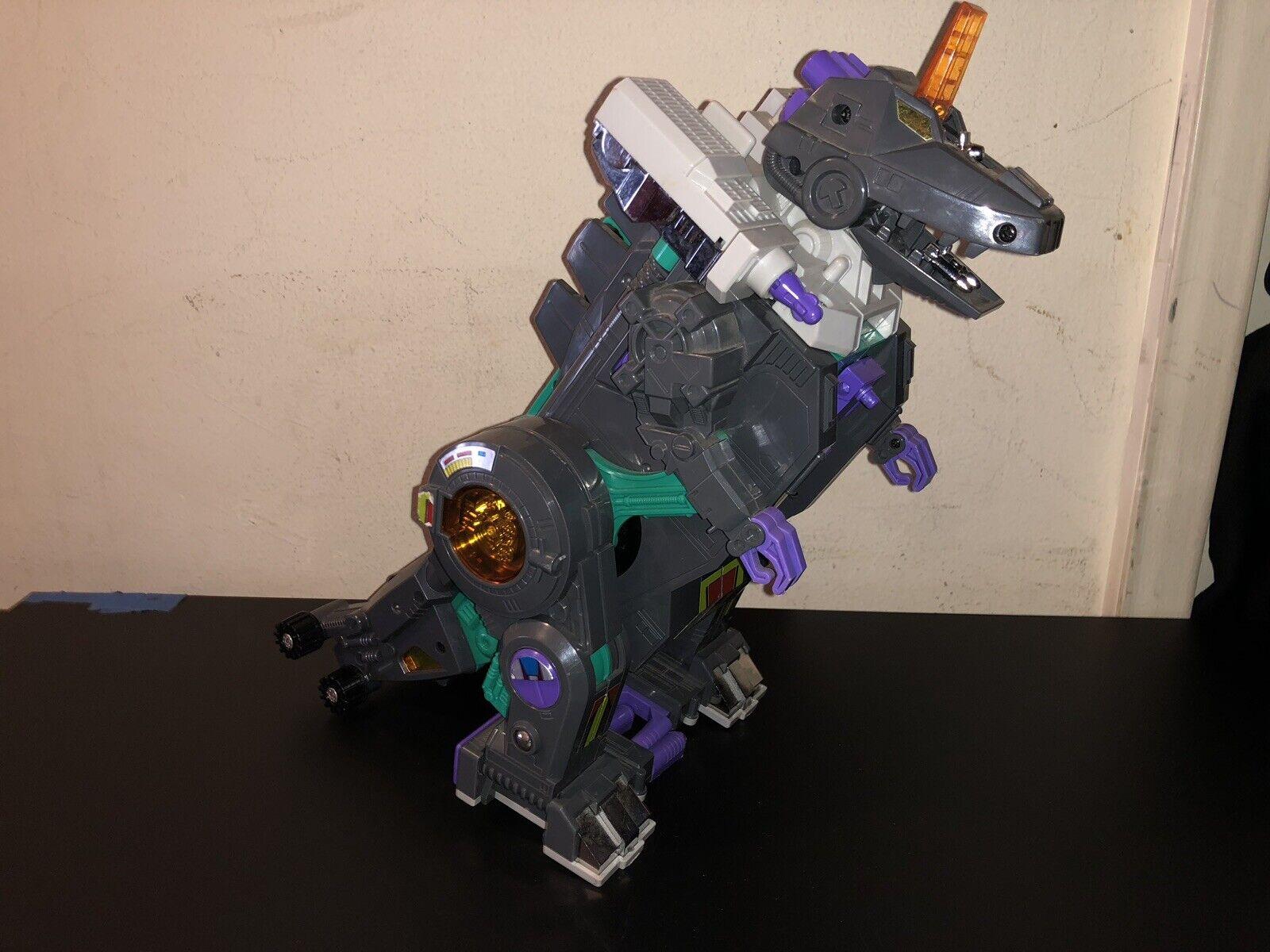 Transformers Original G1 1986 Decepticon Trypticon Excelente Vintage