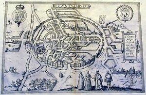 Antique-map-Cantuarbury