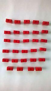Lego-VINTAGE-Blocks-x-29-1950s-1960-039-s-Red