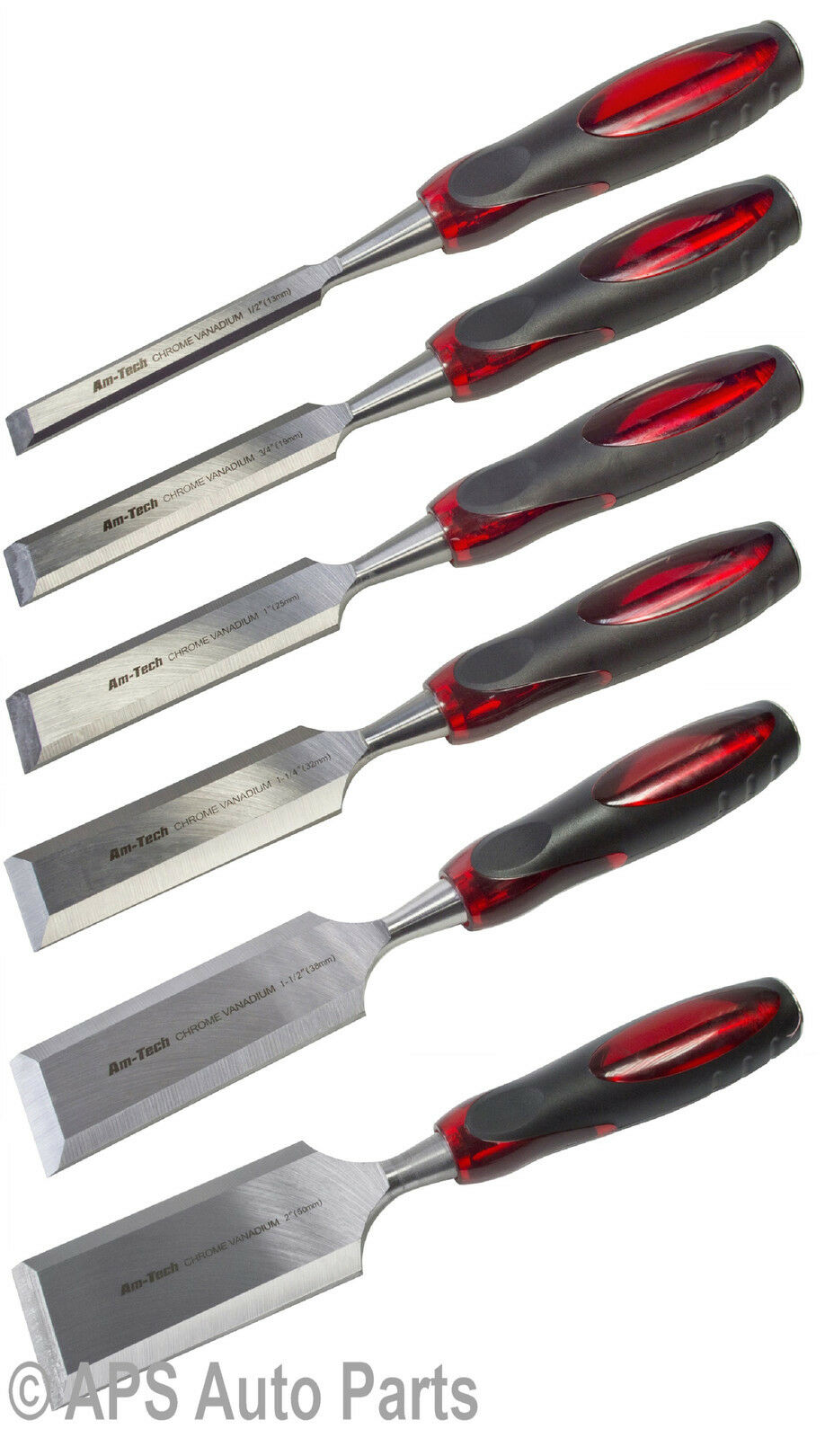 """2/"""" Wood Chisel With Soft Grip Carving Tools Anti Slip New E0560"""
