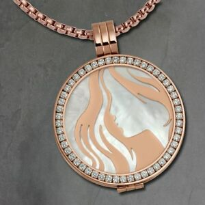 Coins-Chains-Set-Woman-Stainless-Steel-Pendant-with-80cm-ESCS81W-Imppac