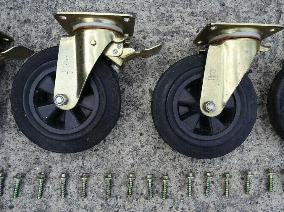 Transporthjul a la klaverhjul